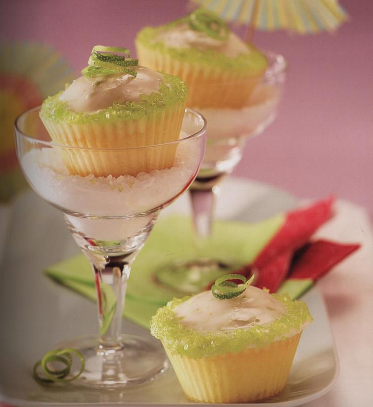 Margarita Cupcakes – Love the Presentation!