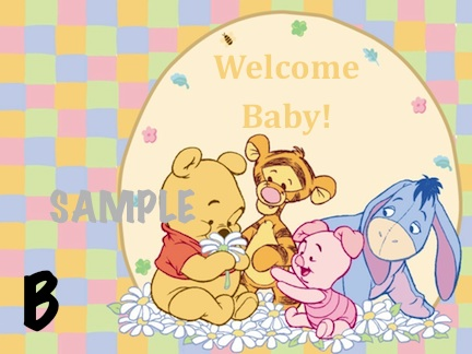 wallpaper baby pooh. Please choose Image A or B and