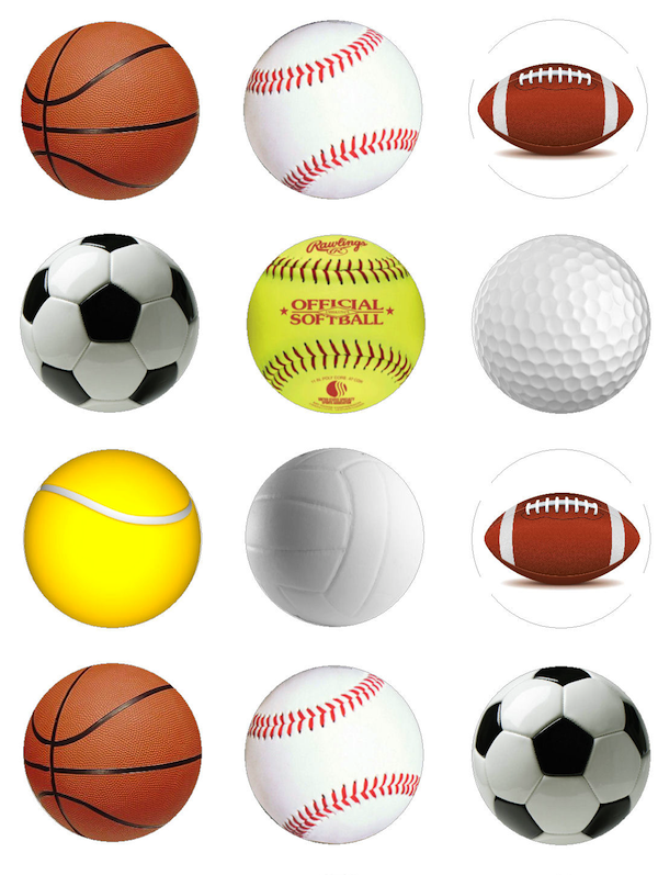 all sports balls related - photo #4